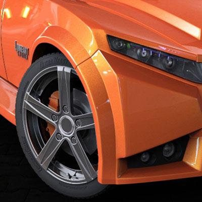 Lion Heart Concept Car