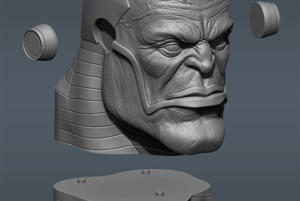 Apocalypse 3d Printed Bust